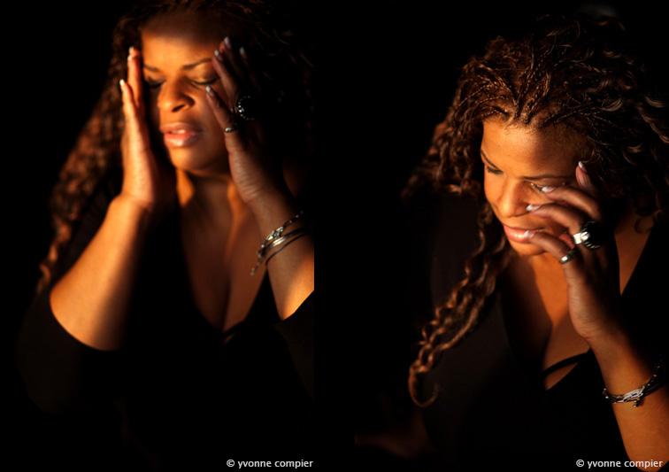 een portret van Janice Williams, gemaakt voor Big is Beautiful