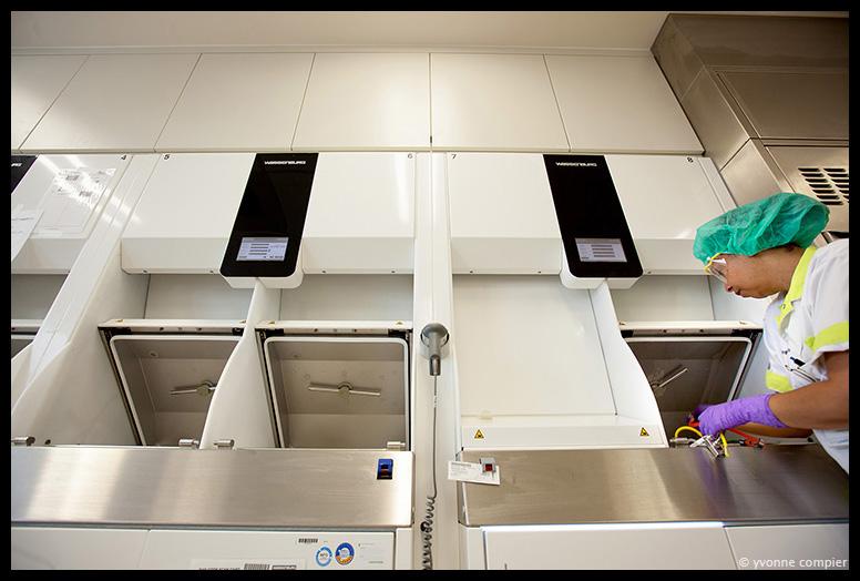 Apparatuur van Wassenburg Medicals in het Westfriesgasthuis