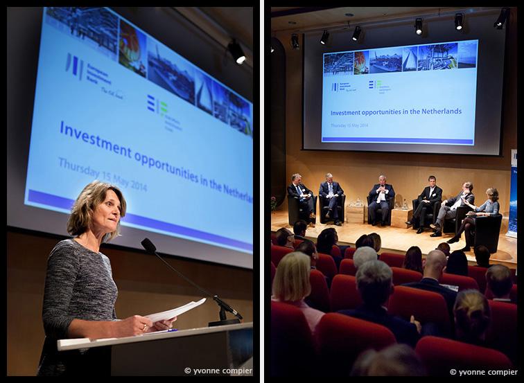 opening nieuw kantoor van de Europese Investeringsbank in Amsterdam