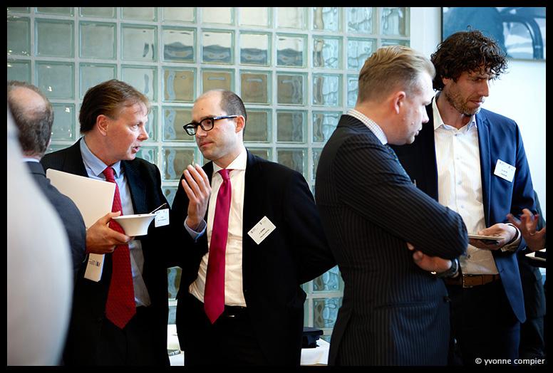 opening nieuw kantoor van de Europese Investeringsbank in Amsterdam, receptie