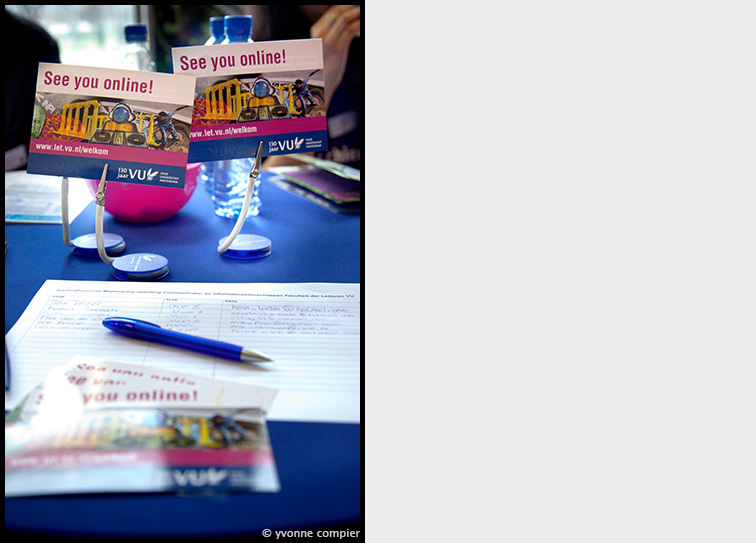 bachelordag 2011 op de VU. Sfeerbeelden en nieuwe merkuitingen