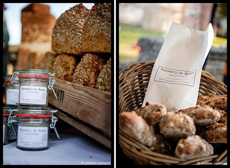 Voor Bakkerij de Basis een serie foto's op de markt in Bergen